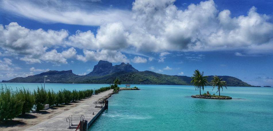 Beautiful stock photos of bora bora, Beauty In Nature, Bora Bora, Day, Hill