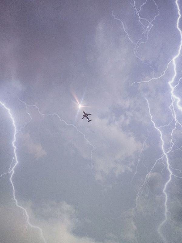 Flying Sky Airplane Low Angle View Day Air Vehicle Lightening Strikes Nature The Great Outdoors - 2017 EyeEm Awards Live For The Story Place Of Heart The Great Outdoors - 2017 EyeEm Awards