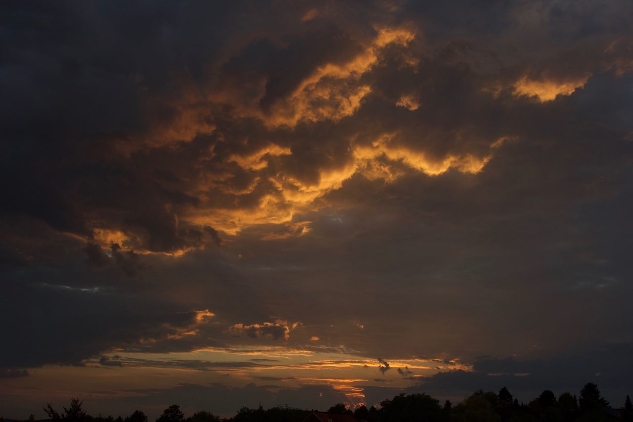 Sommergefühle Sunset Beauty In Nature Sky Cloud - Sky Dramatic Sky Tranquility Sommergefühle