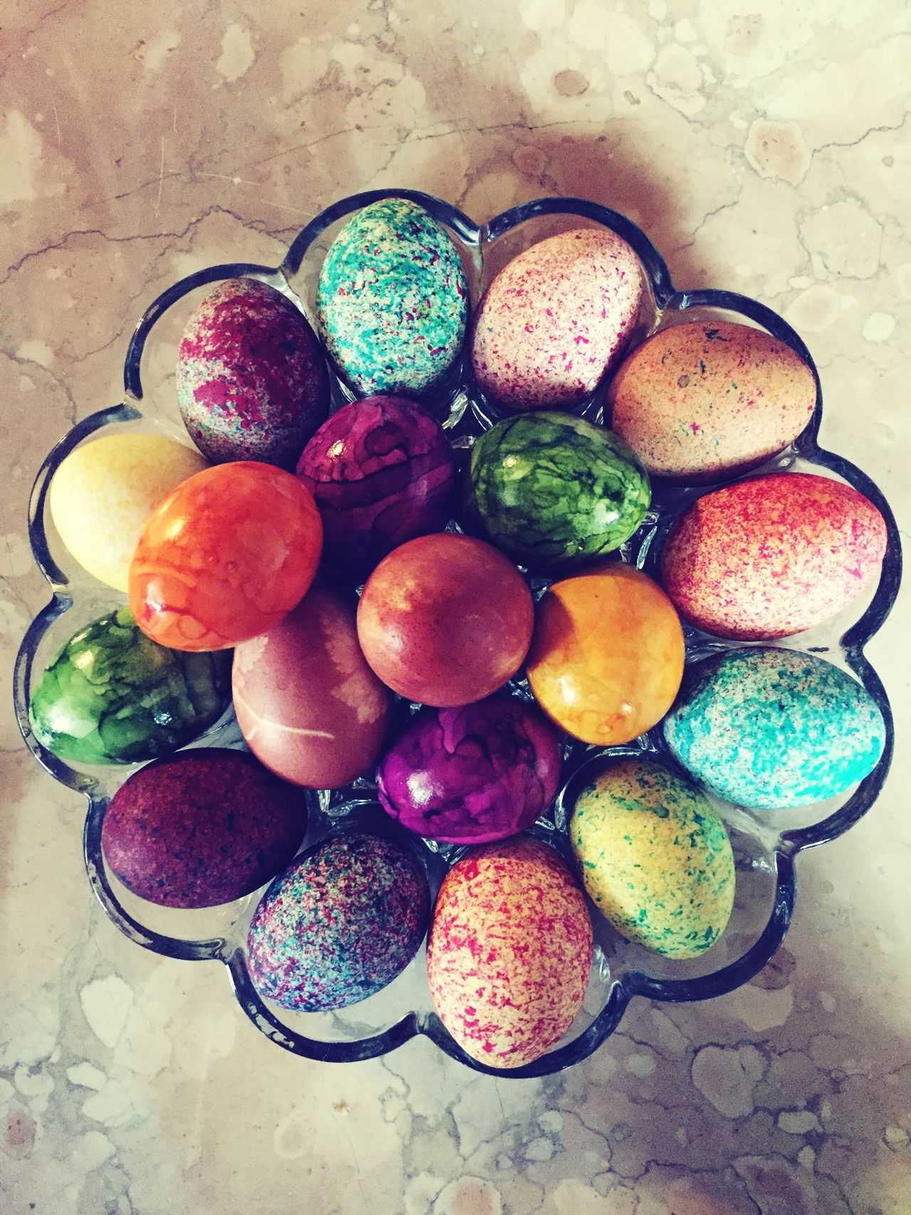 Variation High Angle View Multi Colored Indoors  Food And Drink Ostern Easter Eggs Easter Eier Freshness Directly Above No People Choice Food Healthy Eating Day Art Is Everywhere