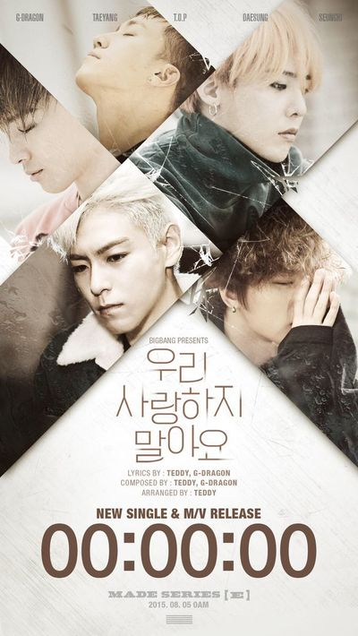 Bigbang Countdown Made E GD&TOP カムバック Comeback