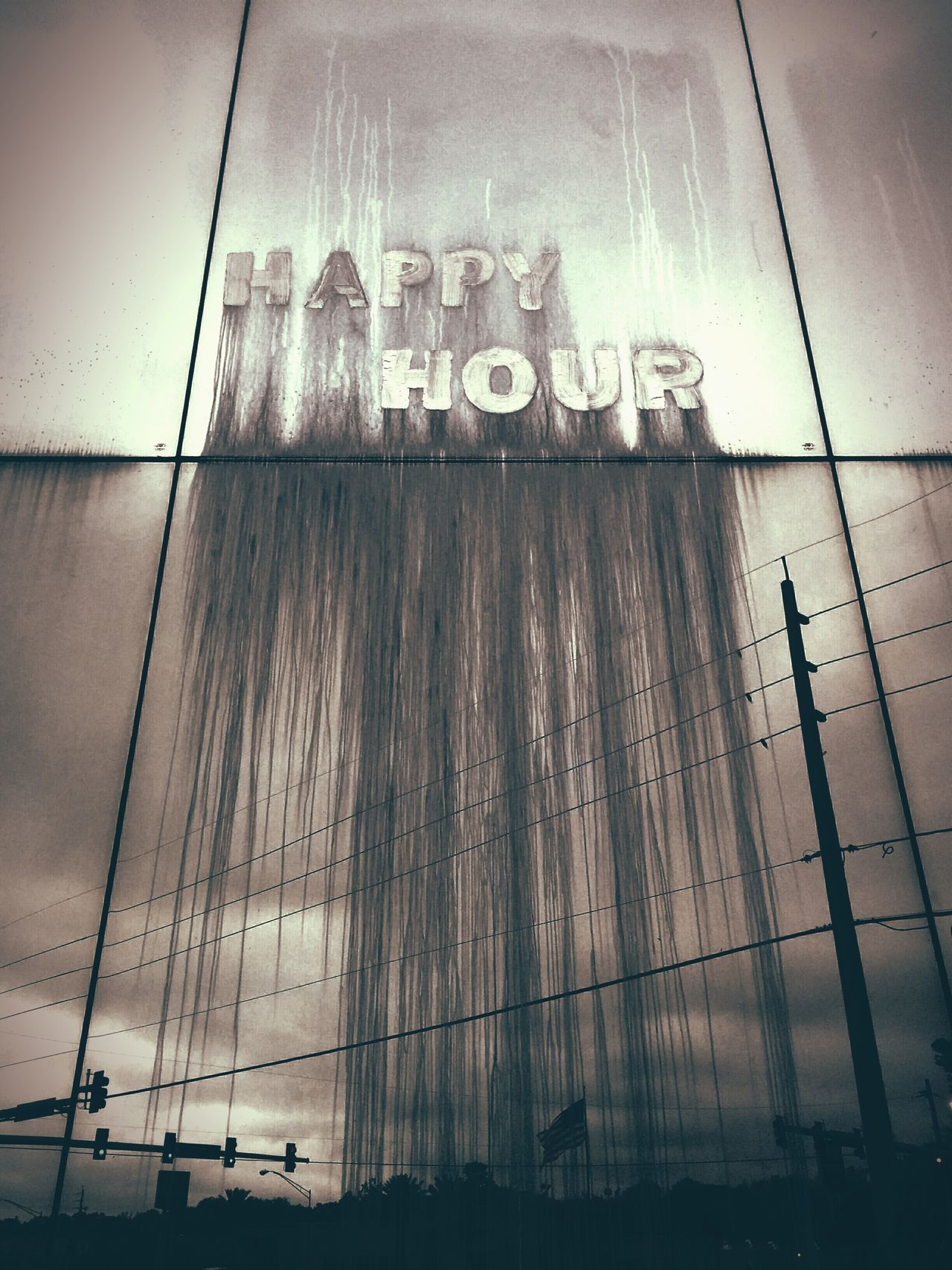 Happy Hour Streaming Down Dripping Abandoned Buildings Abandoned Bar