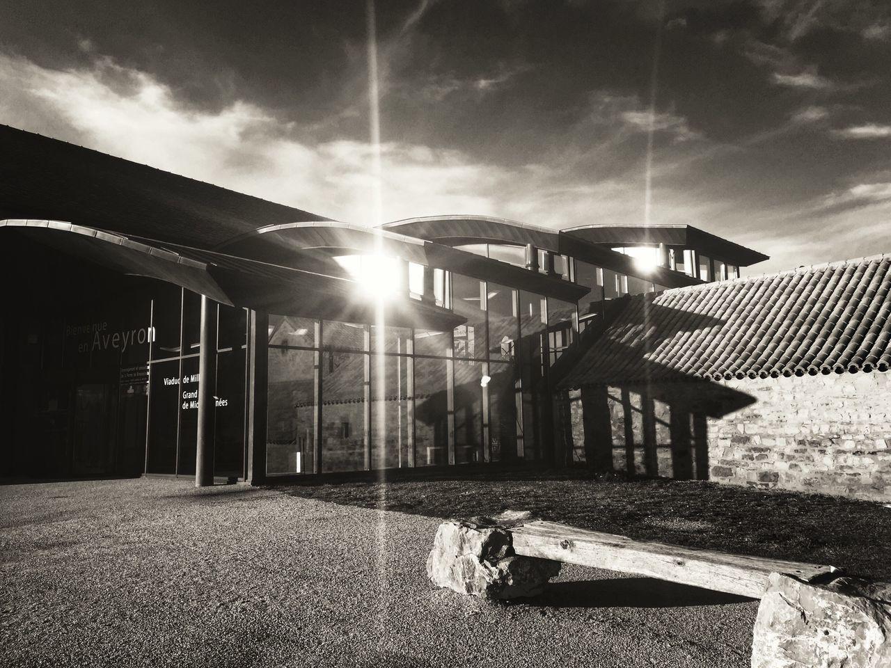 Hiver : jour de soleil Architecture_bw Black & White Bllackandwhite Eye4black&white  EyeEm Best Shots - Black + White Sun_collection