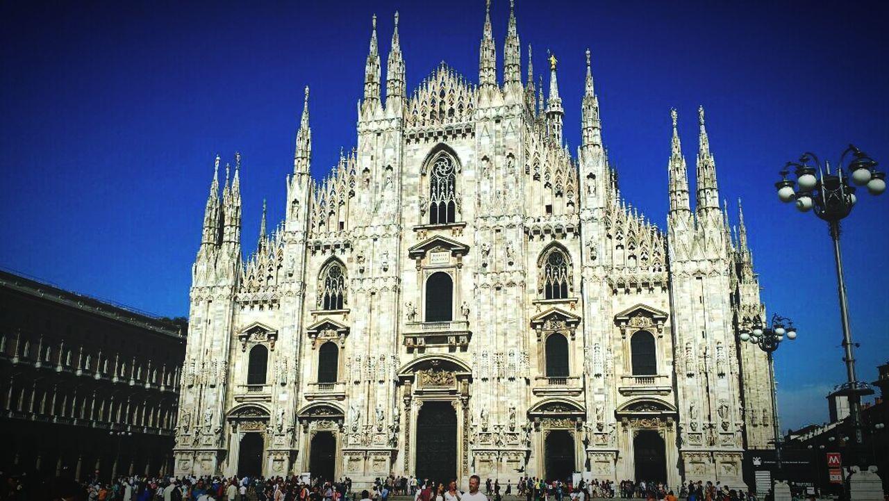 Milan,Italy is Fantastic Iloveitaly Duomo Piazzadelduomo Milan Sobig Holiday Summertime