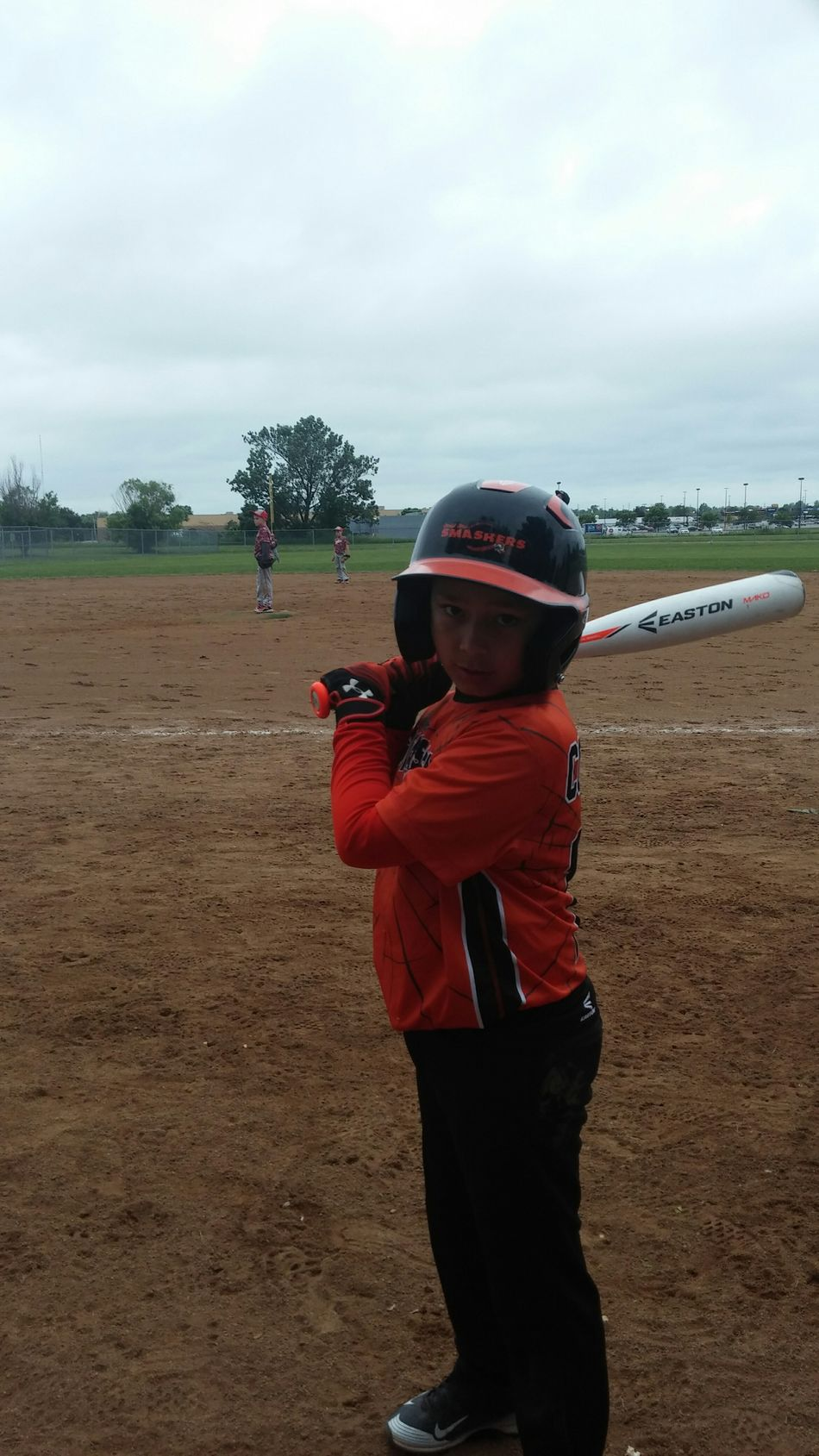 Looking serious before he hits a double. @drew1c Baseball Future Cardinal Enjoying Life Dedication Baseball Life