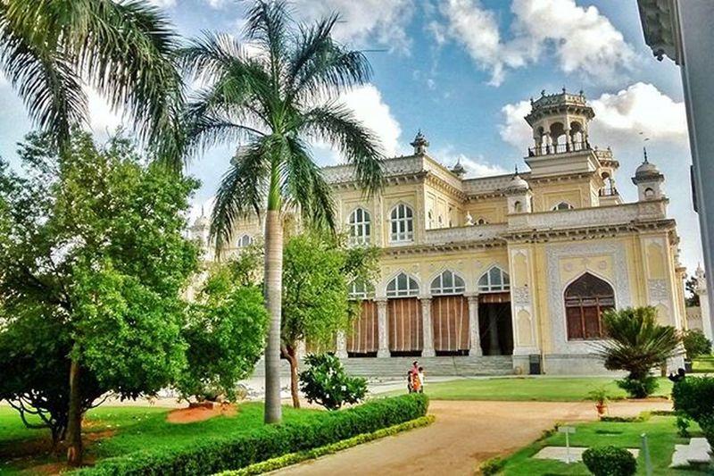 Hyderabad Chowmalla palace Historicalplace Palace Nizams Royal Green Trees Garden Touristattraction