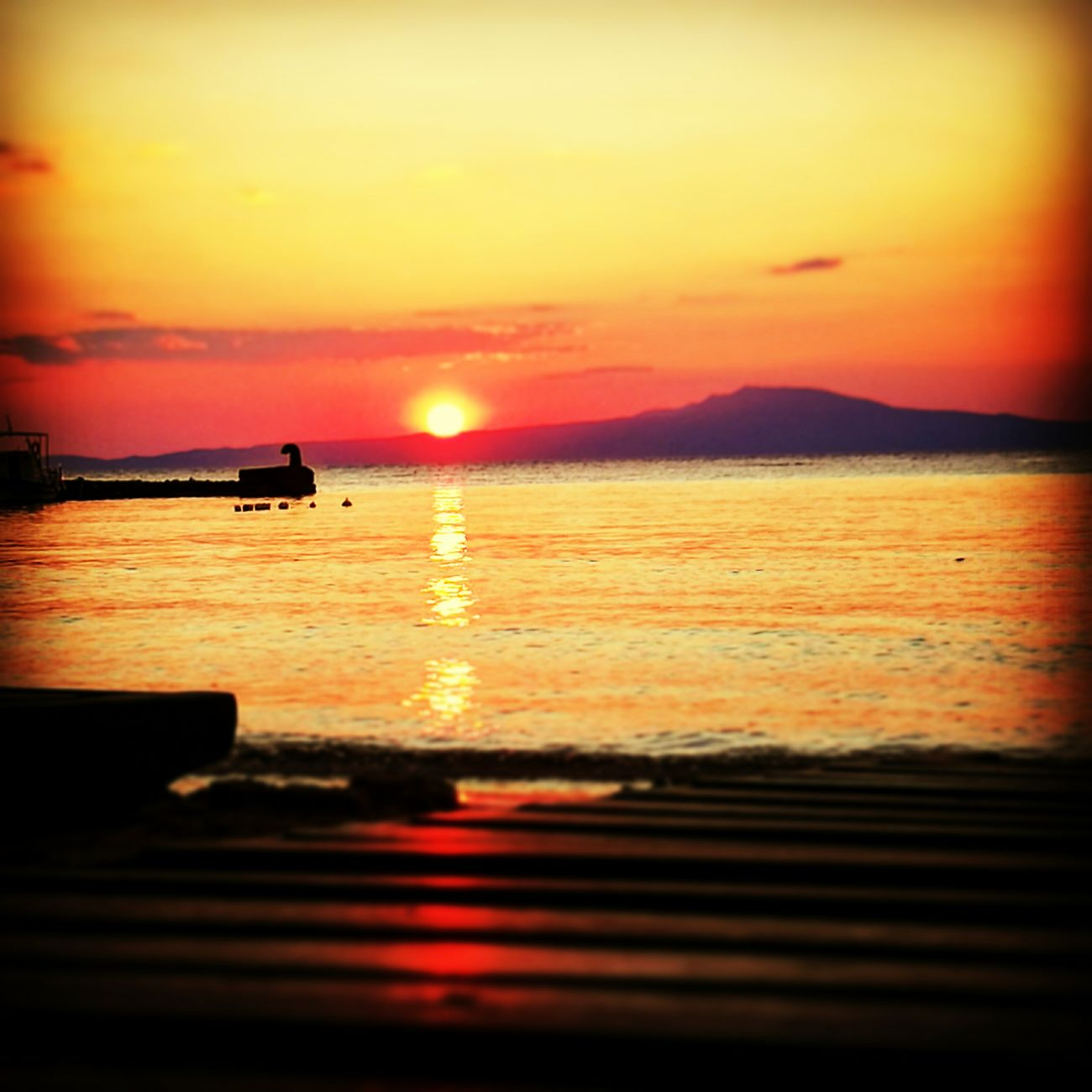 Sunset Greece Stoupa