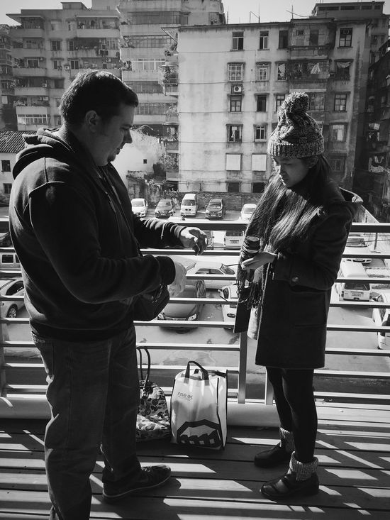 IPhoneography People Friends ❤ Taking Photos Blackandwhite Black And White Monochrome