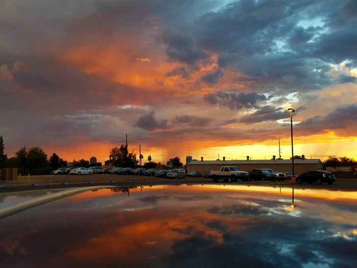 I chose no editing because there is already way enough color in this Arizona Monsoon Sky. These skies are almost unbelievable. Dramatic Sky Incredible Nature Brilliant Colors , Rain in the distance, Sunset And Clouds