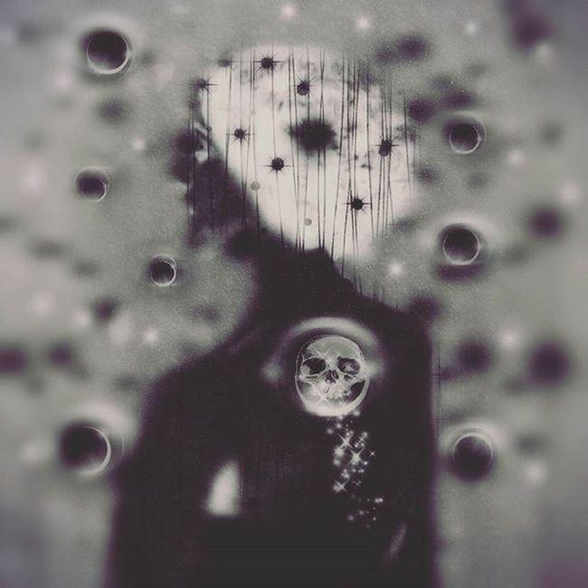 Digitalart  Darkart Skulls Photomanipulation Blackandwhite