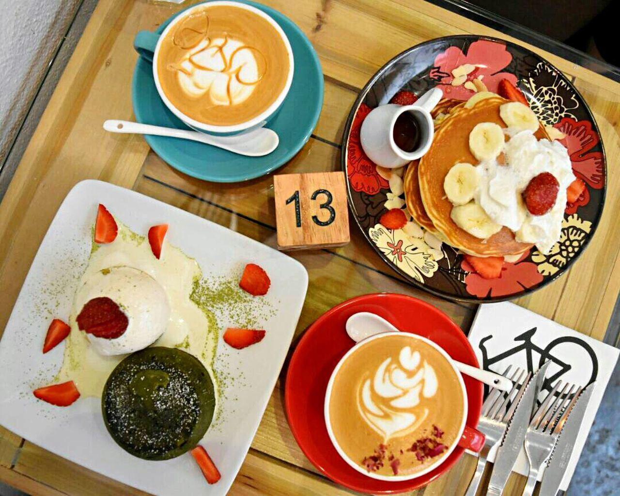 Penangcafe Cafe Foodie Roselatte Caramel Macchiato Pancakes Matchalavacake Matchaaddict Matcha Green Tea Penangheritage Coffee