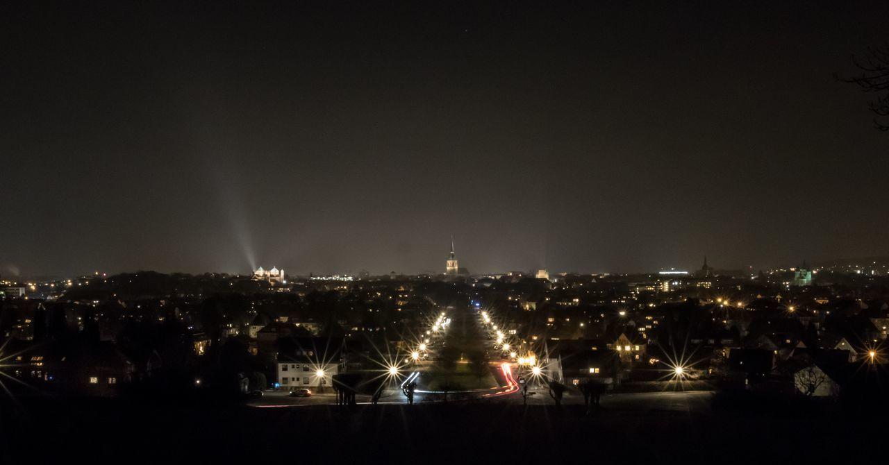 Evening Firsttouroftheyear Long Exposure Berghölzchen Delemo City Sky Cityscape Outdoors No People Urban Skyline