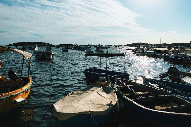 Landscape Sea Sea And Sky Seascape Boats Iphonegraphy IPhoneography IPhone Iphoneonly Iphonephotography Iphonesia IPhone Photography Vscocam VSCO VSCO Cam South Sea View Sea Life Light And Shadow Water