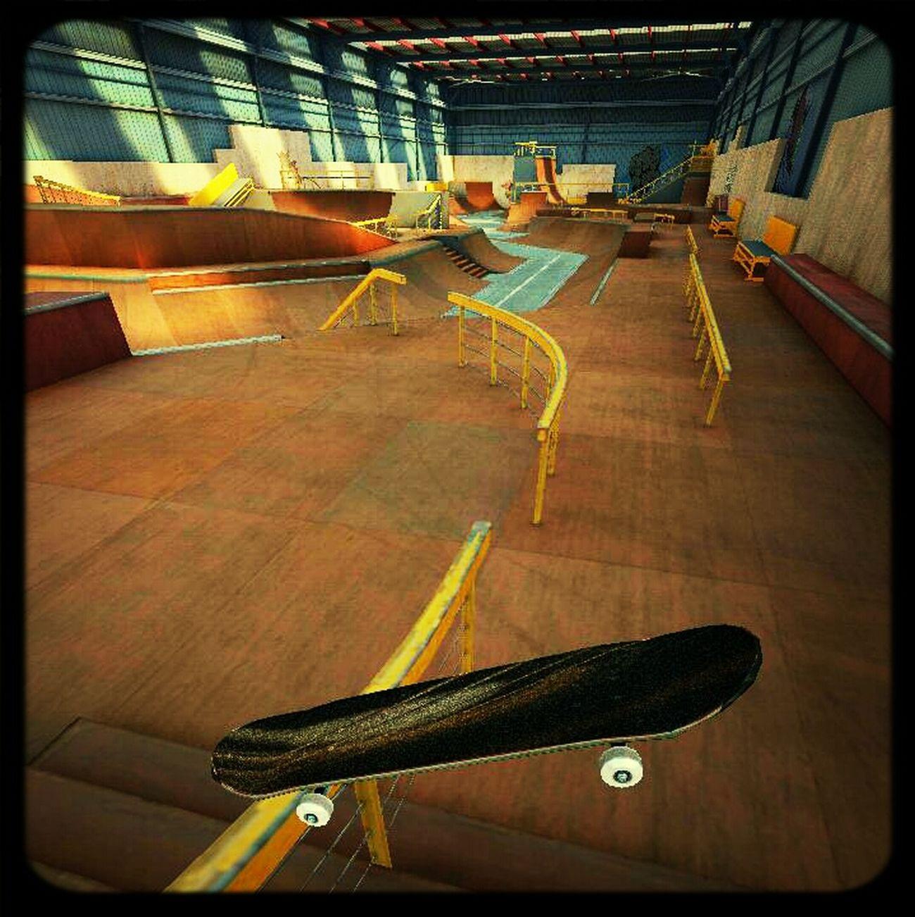 Skateboarding Skate True Skate