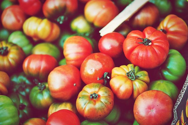 Tomato Market Fruit Vegetables Food Buying Food Grocery Shopping Open Edit