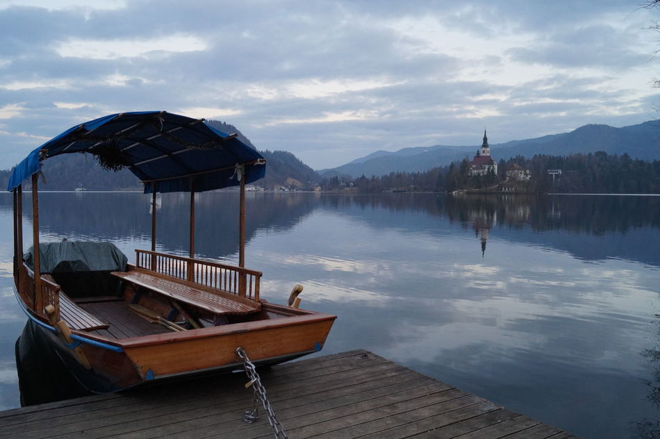 Bled Bled Lake Slovenia Lake Beauty In Nature Nautical Vessel Ship Colors Colors Of Nature Trip Mytravelgram Travel Photography MyTripMyAdventure My Favorite Place Nofilter Water Sky Nature Reflection Prospectives Travel Travelphotography Beautiful Nature Nofilters