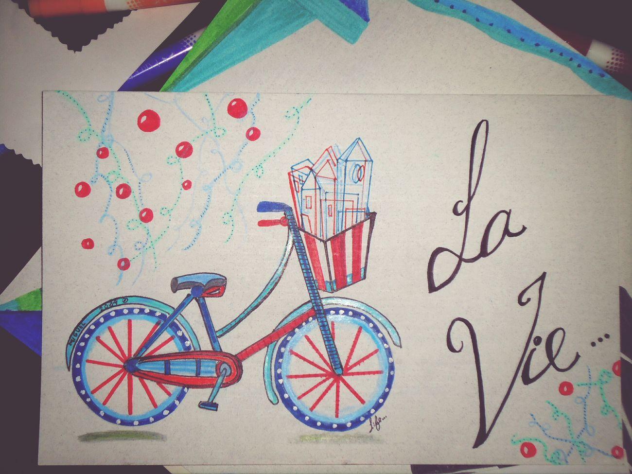 Algo de vida, algo de Inspiración. Drawing Lavie Dibujo