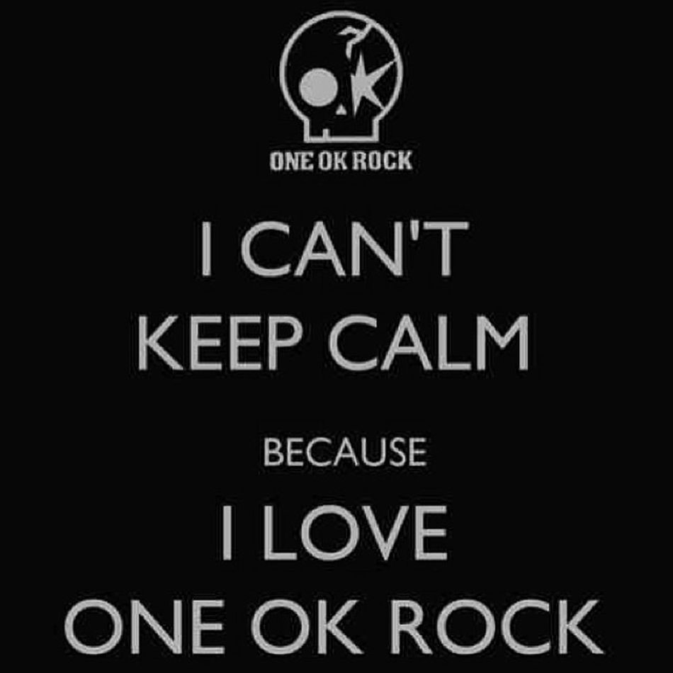 🎤🎶 listening to their live concert in YouTube while going to sleep. OOR ONEOKROCK Jrock Band music keepcalm headbang