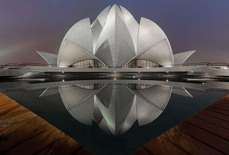 Lotus Temple Bhai Religion Worship DelhiGram Architecture Architecture_collection Architect - 2016 EyeEm Awards Architecturelovers Monument Delhi EyeEm Best Shots EyeEm Gallery EyeEm Best Edits EyeEmBestPics Eyeem Market Getty Images Eyeemphoto Eyeemphotography Indianphotography Architectural Feature Famous Place Natgeotravel Blue Hour EyeEm Masterclass Incredible India