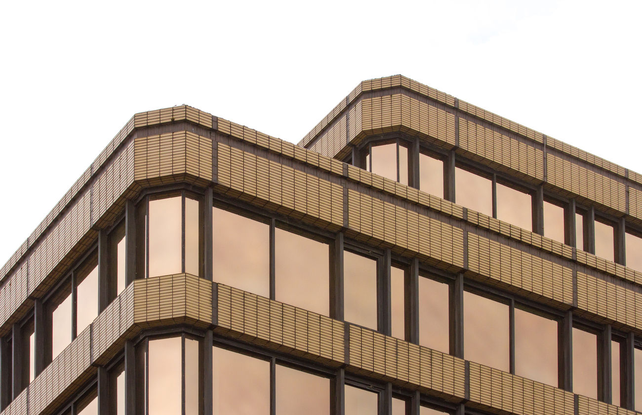Brutalism Brutalist Architecture Brown Building Exterior Built Structure Modern No People Outdoors Skyscraper