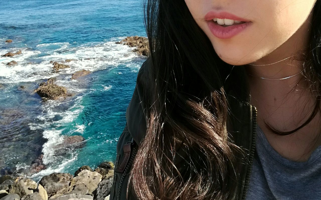 Nature Natural Sea Girl Canary Islands GranCanaria Me Sun Love Lovethat Place Style Thinking Women Feel Lips Belive Moments First Eyeem Photo
