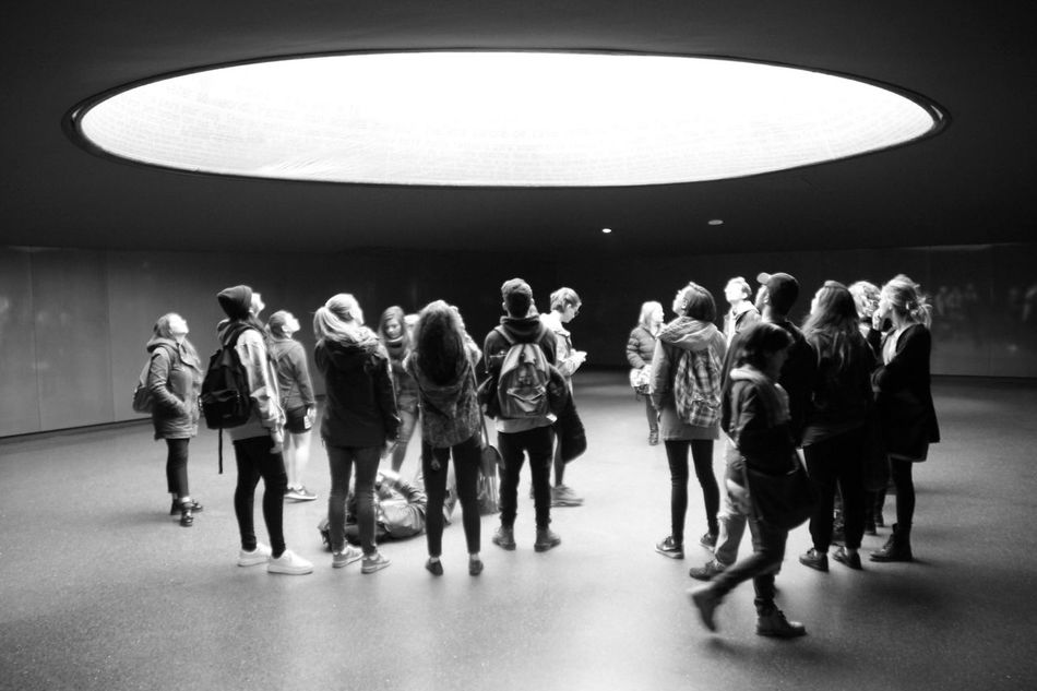 Full Length Real People Indoors  Large Group Of People Illuminated People Day Adult Streetphotography Train Station Memory Black & White Enjoying Life Check This Out Black And White Hanging Out Architecture Blackandwhite Memorial Memorial Place Atocha Young Adult Togetherness Standing Taking Photos