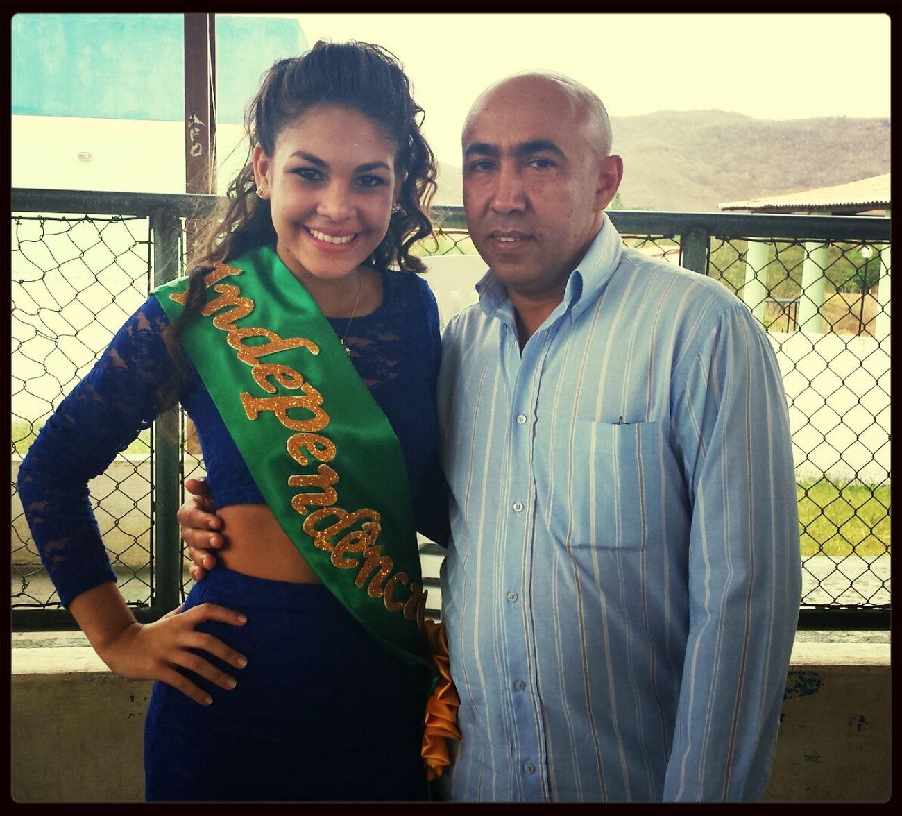 Rainha Thalia e o Prefeito Dé!