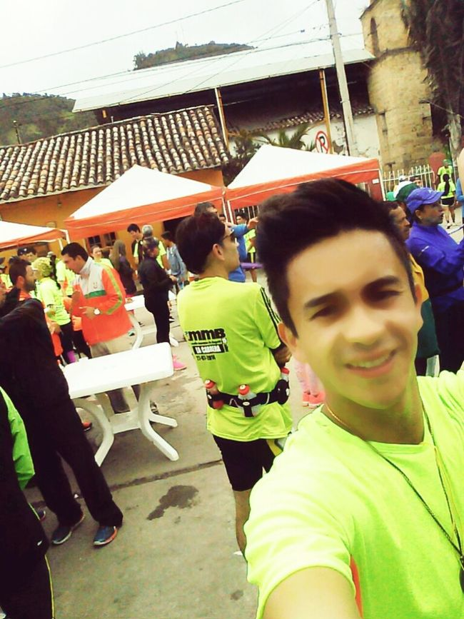 Despues de 15 km....