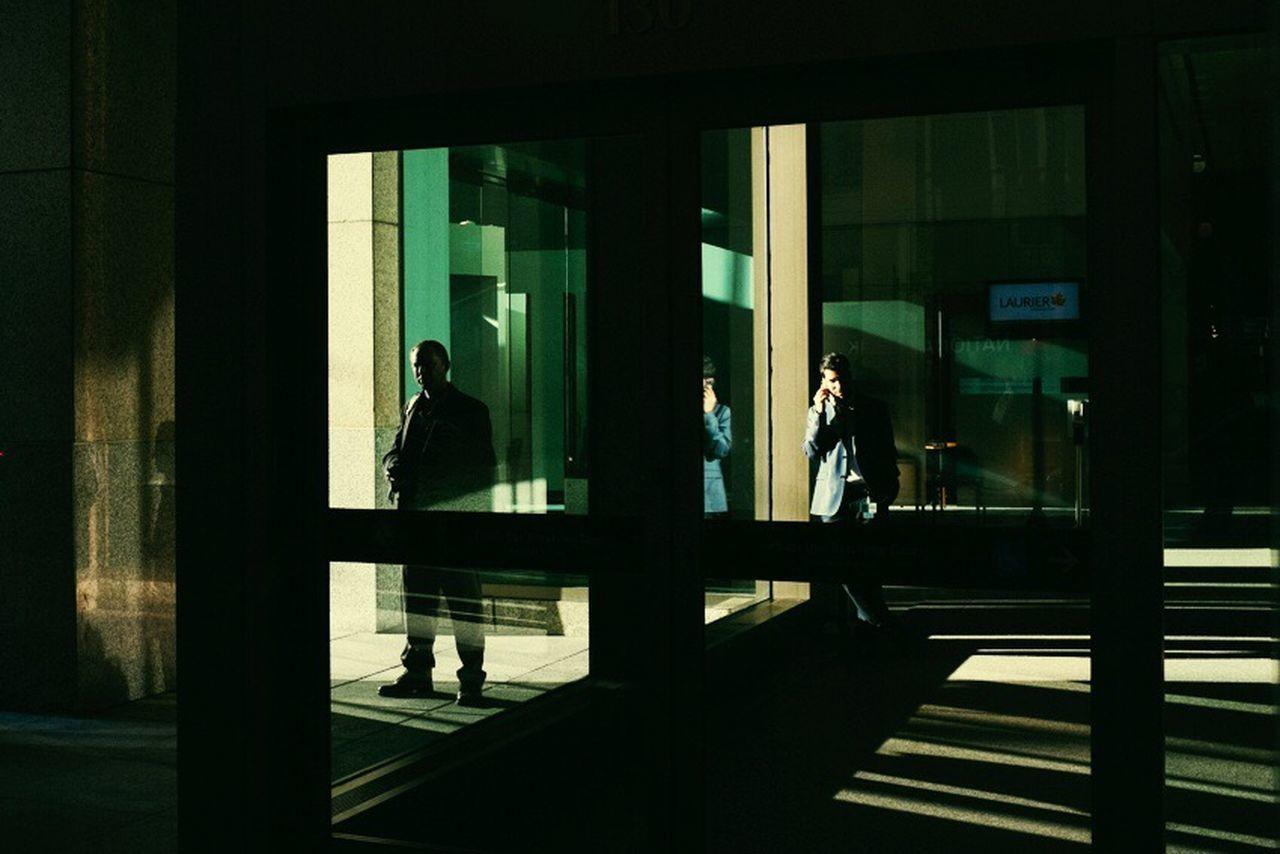 The Street Photographer - 2017 EyeEm Awards Men Real People Window Indoors  Architecture Two People Standing Day Building Exterior Toronto Lookslikefilm Shadow Scenics