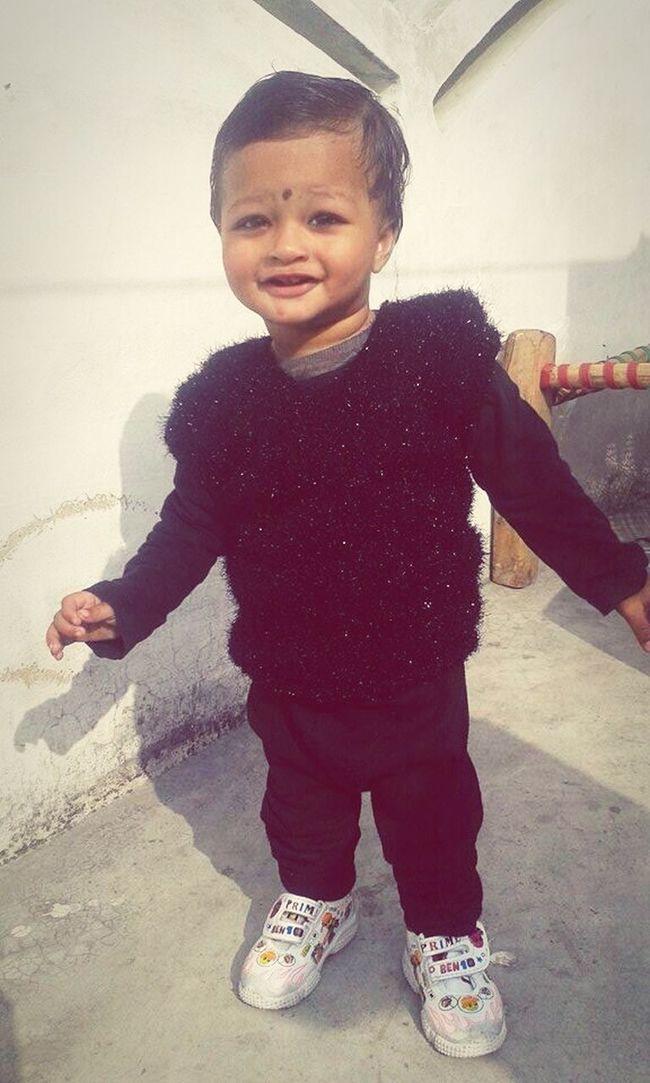 Enjoying Life Cute Baby Nawaz Nasik