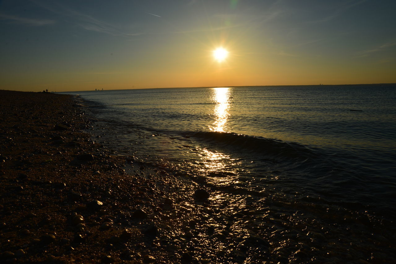 Bayville,NY Beach Sunsets Calm Waters Long Island Sound Summertime Sunsets Tranquil Scene Tranquility