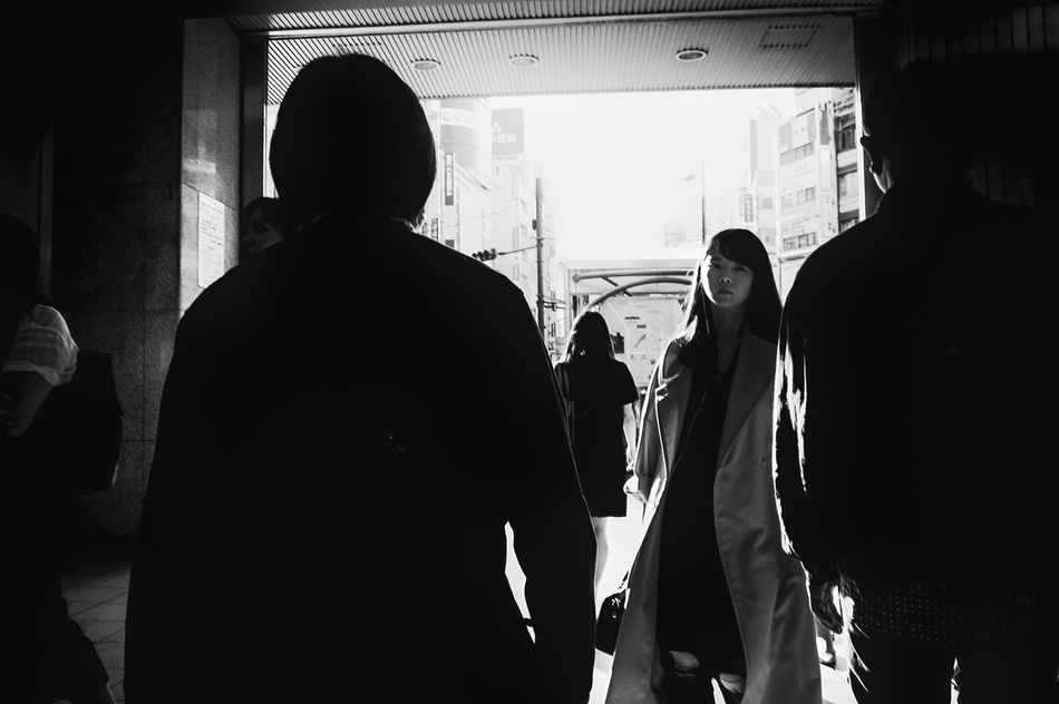 Streetphotography People Blackandwhite Tokyo Black And White Street Photography Streetphoto Japan Streetphoto_bw Streetphotography_bw B&w Street Photography Monochrome Photography The Week Of Eyeem Long Goodbye Welcome To Black