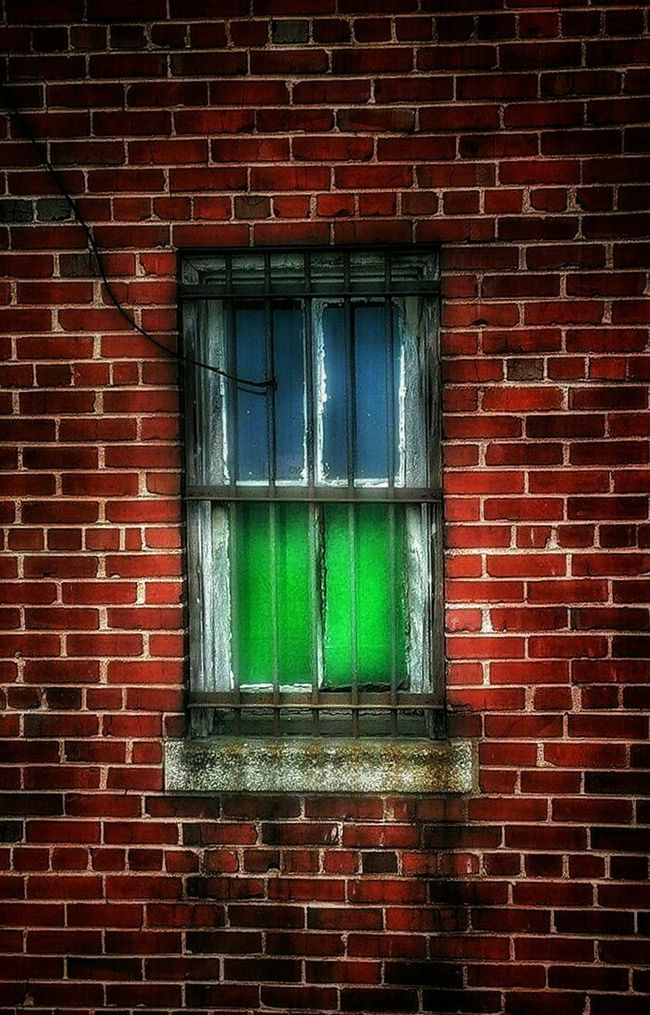 AMPt - Abandon Abandoned Places Windows Color Explosion Brickbuildings Brick Wall Brickporn EyeEm Best Shots - Architecture EyeEm Gallery