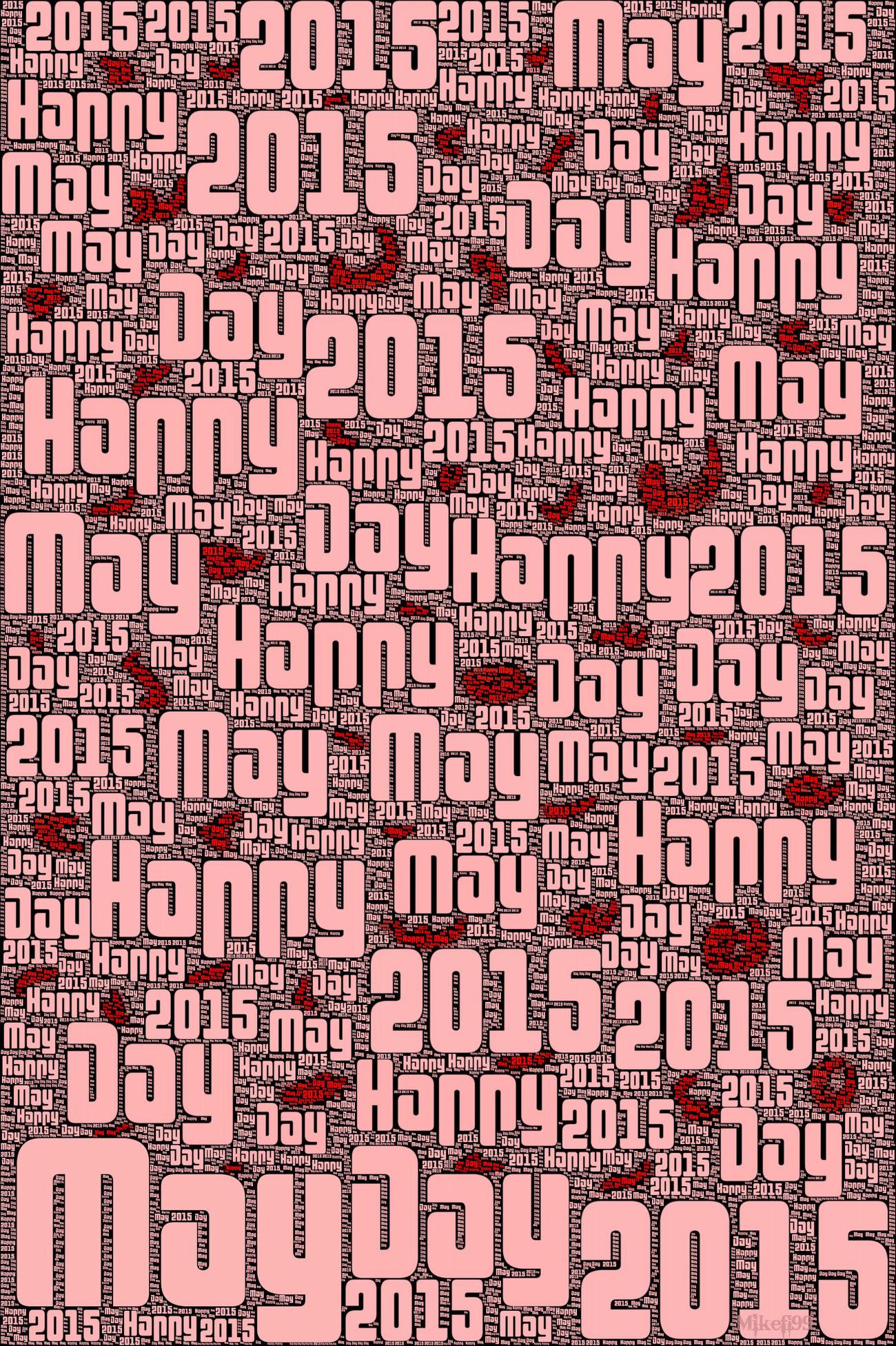 Happy May Day 2015 Mayday2015 ArtPop Modern Art Streamzoofamily Mikefl99 Digital Art Warhol Inspired Red Red Red!!! Modernartwork Creative