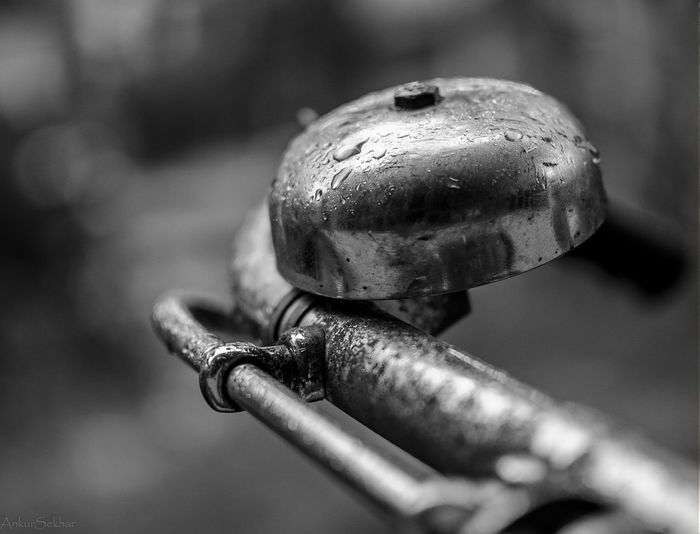 Raindrops Stuckathome Bicycle Bell Nikon D5100