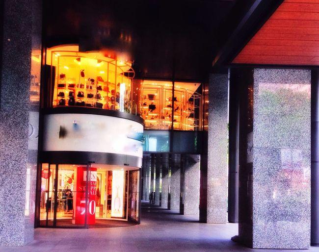 Endless shopping/consumerist/materialism culture Shopping Department Store Exterior Architecture Consumerist Culture Granite Columns