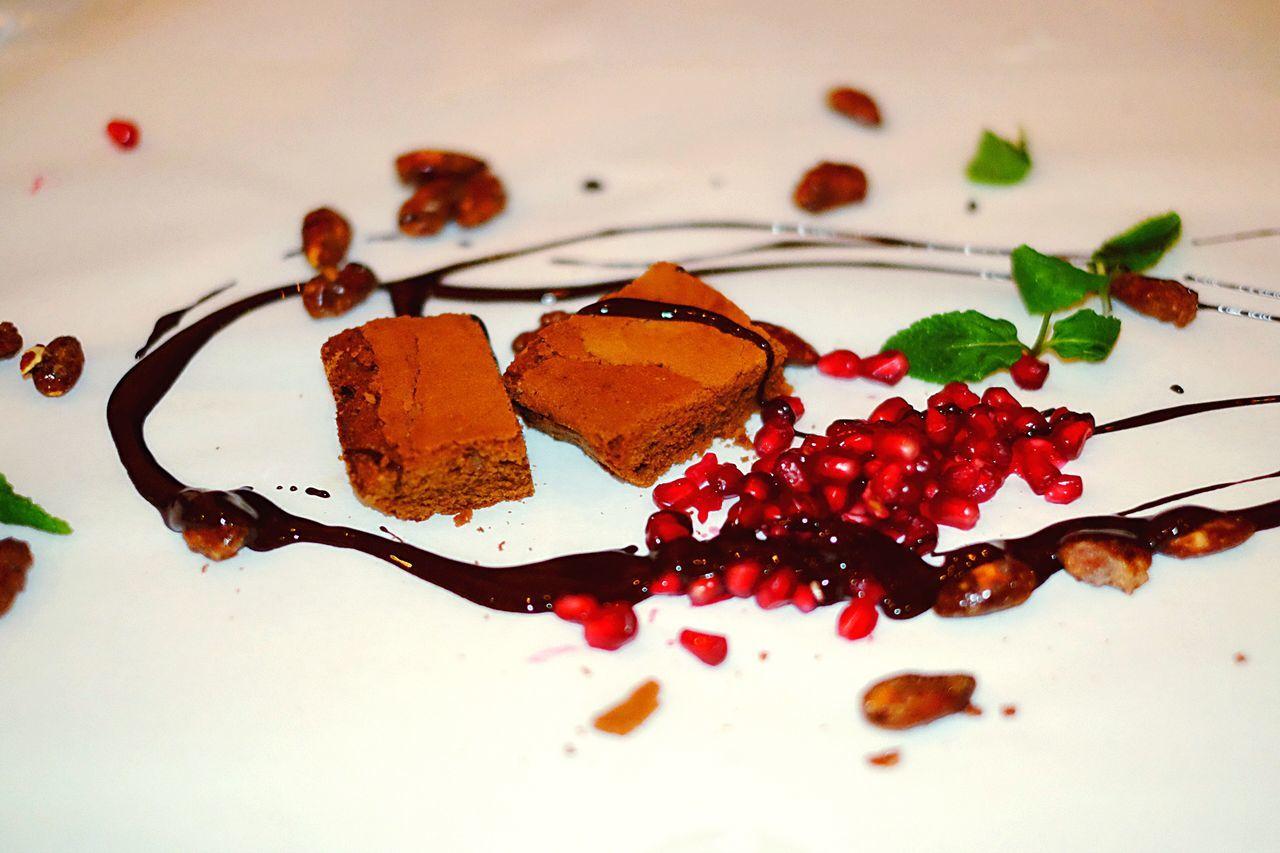 Om Nom Nom Desert Chocolate Pomegranate Indulgence Art