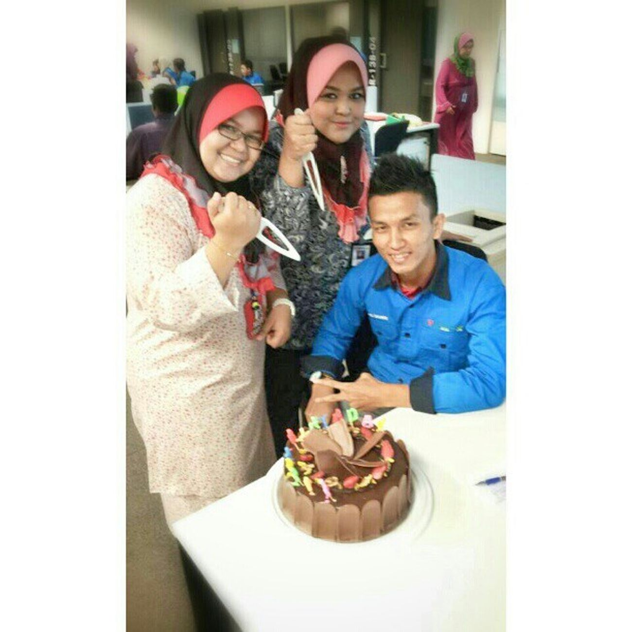 HappyBirthday adik Kuyie :) with Aretim