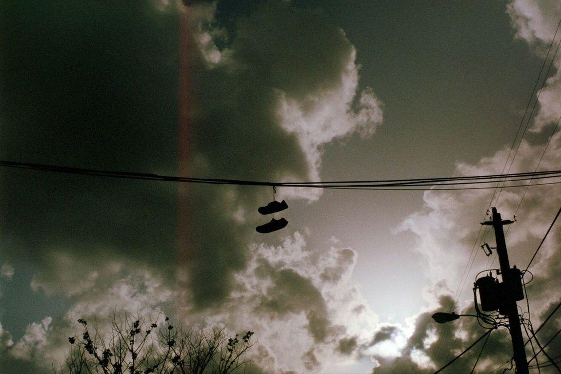 Scannedfilm Film Shadows Shoes