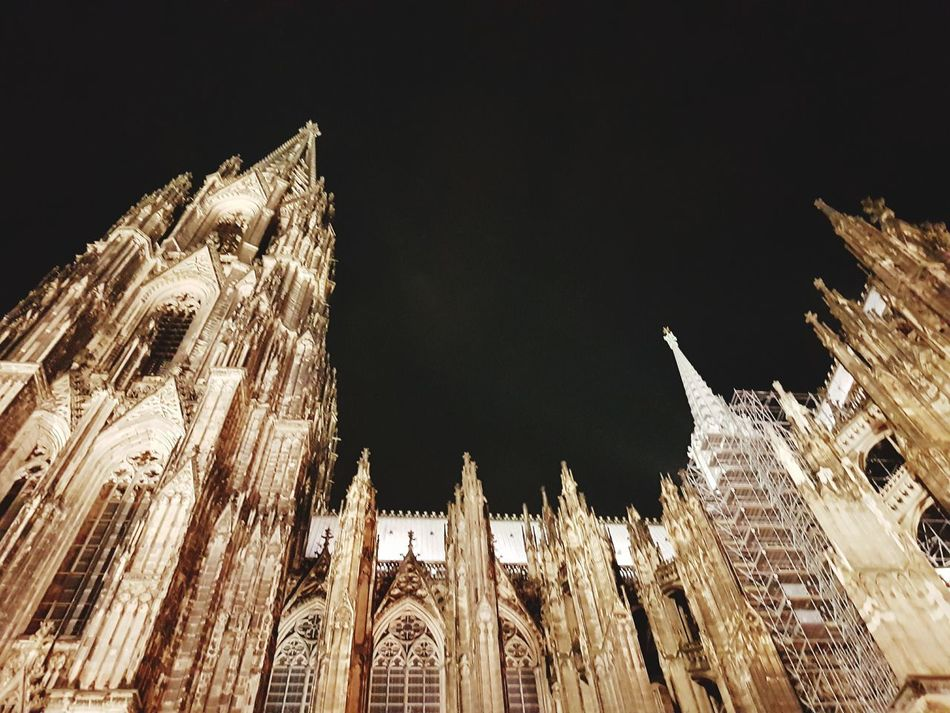 Kölner Dom No People Archtitecure Outdoors, Outside, Open-air, Air, Fresh, Fresh Air, Cityscape Skyviewers Check This Out Enjoying Life