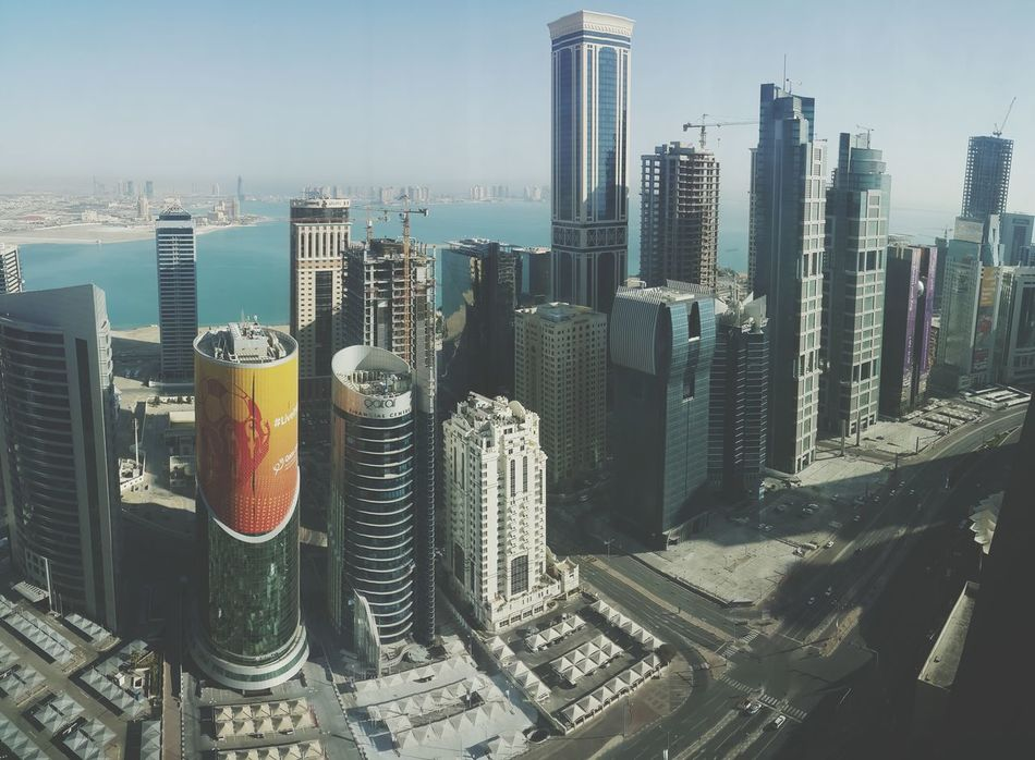 The View From My Window Marriot Marquis Doha