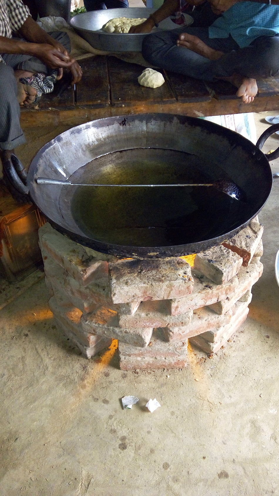 This is a tool called KADHAI used to make the swets ,Used Check This Out Taking Photos Hello World