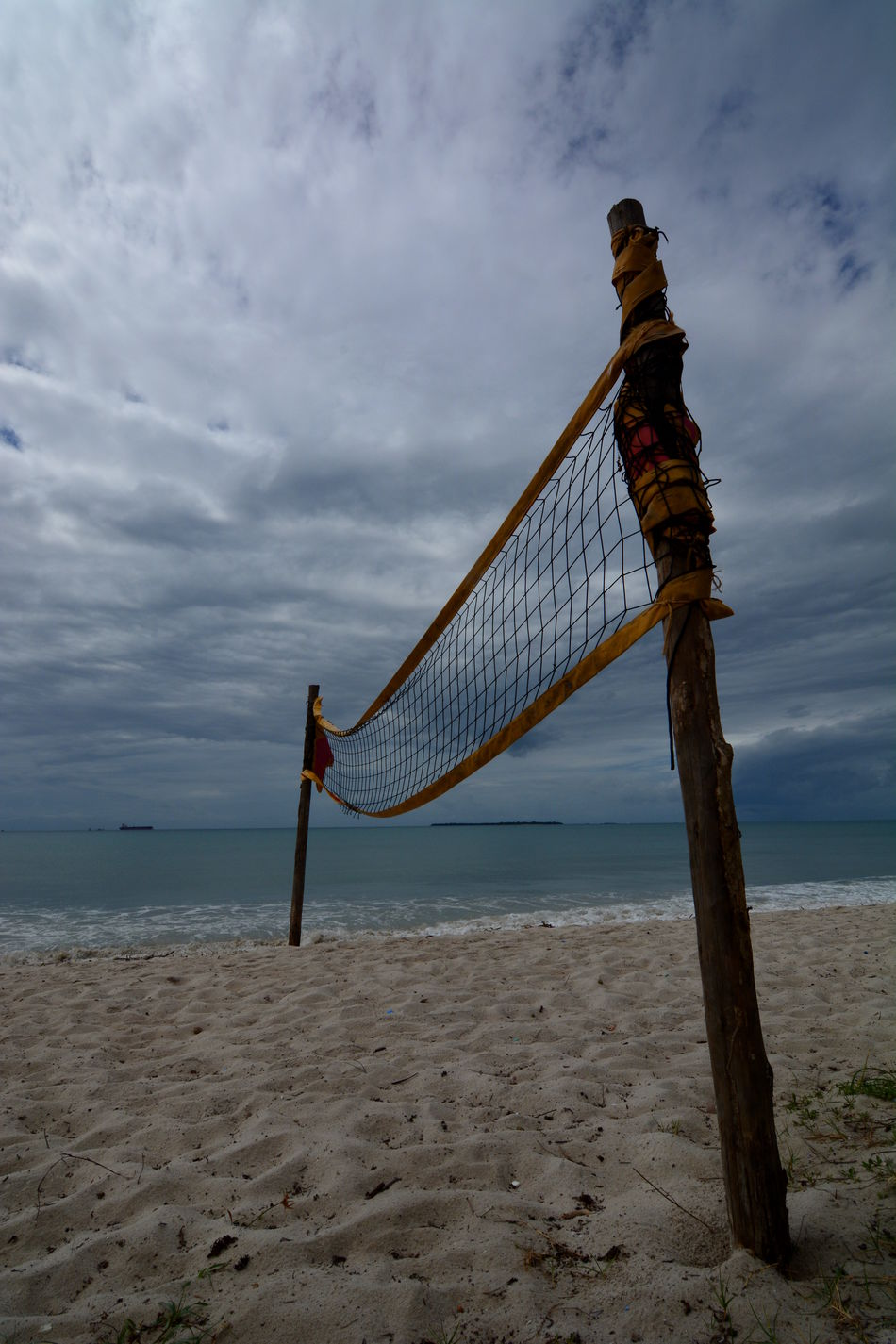 Beautiful stock photos of strand,  Beach Volleyball,  Beauty In Nature,  Cloud - Sky,  Cloudy