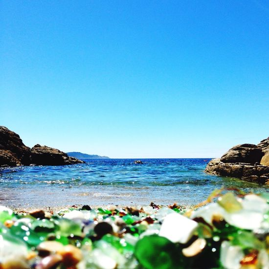 A small Beach in Costa Da Morte In the past it was a Dumping Rubbish full of glass from bottles and other containers. Now is a Colorful place Colors Hidden Gems  Miles Away The Great Outdoors - 2017 EyeEm Awards