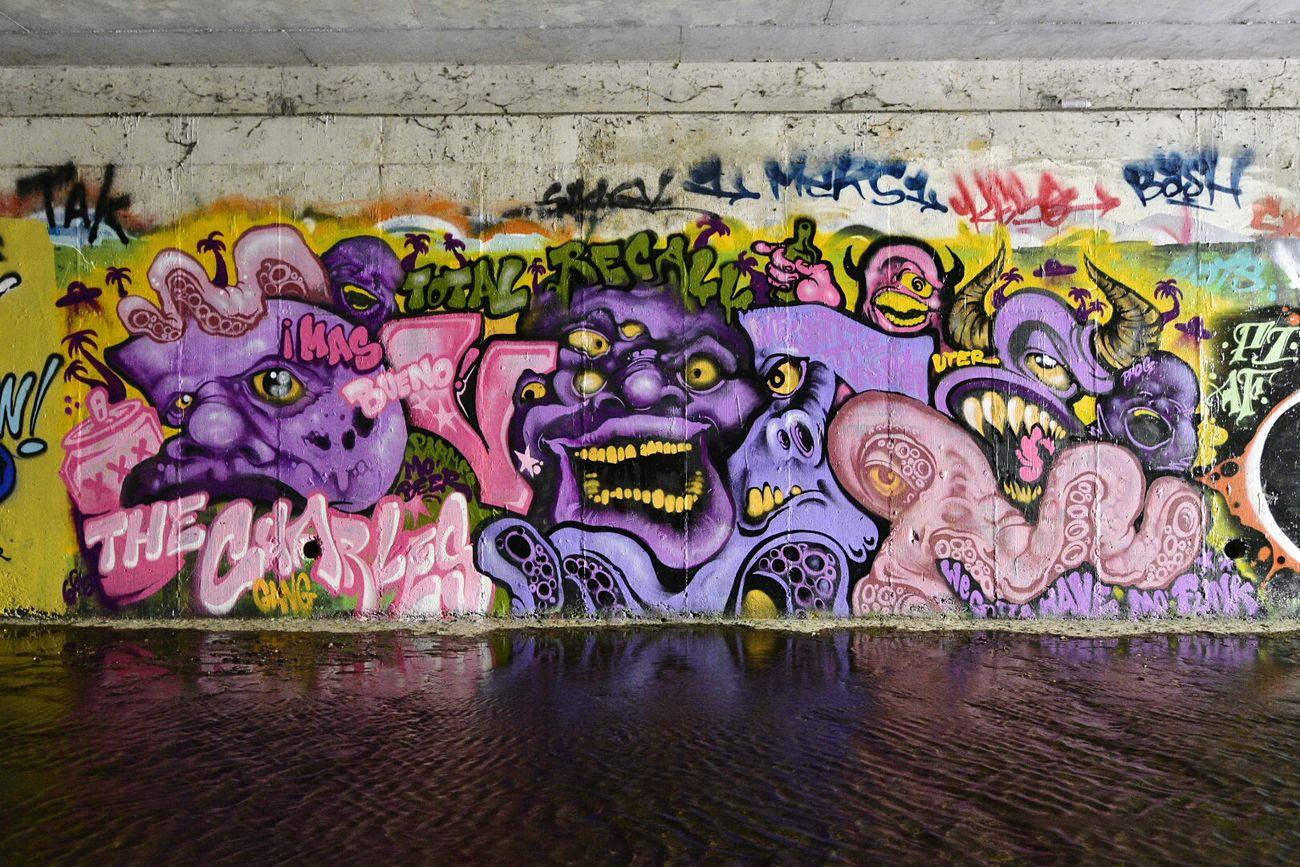 Dvote Graffiti Bay Area Art Urbex Tunnel
