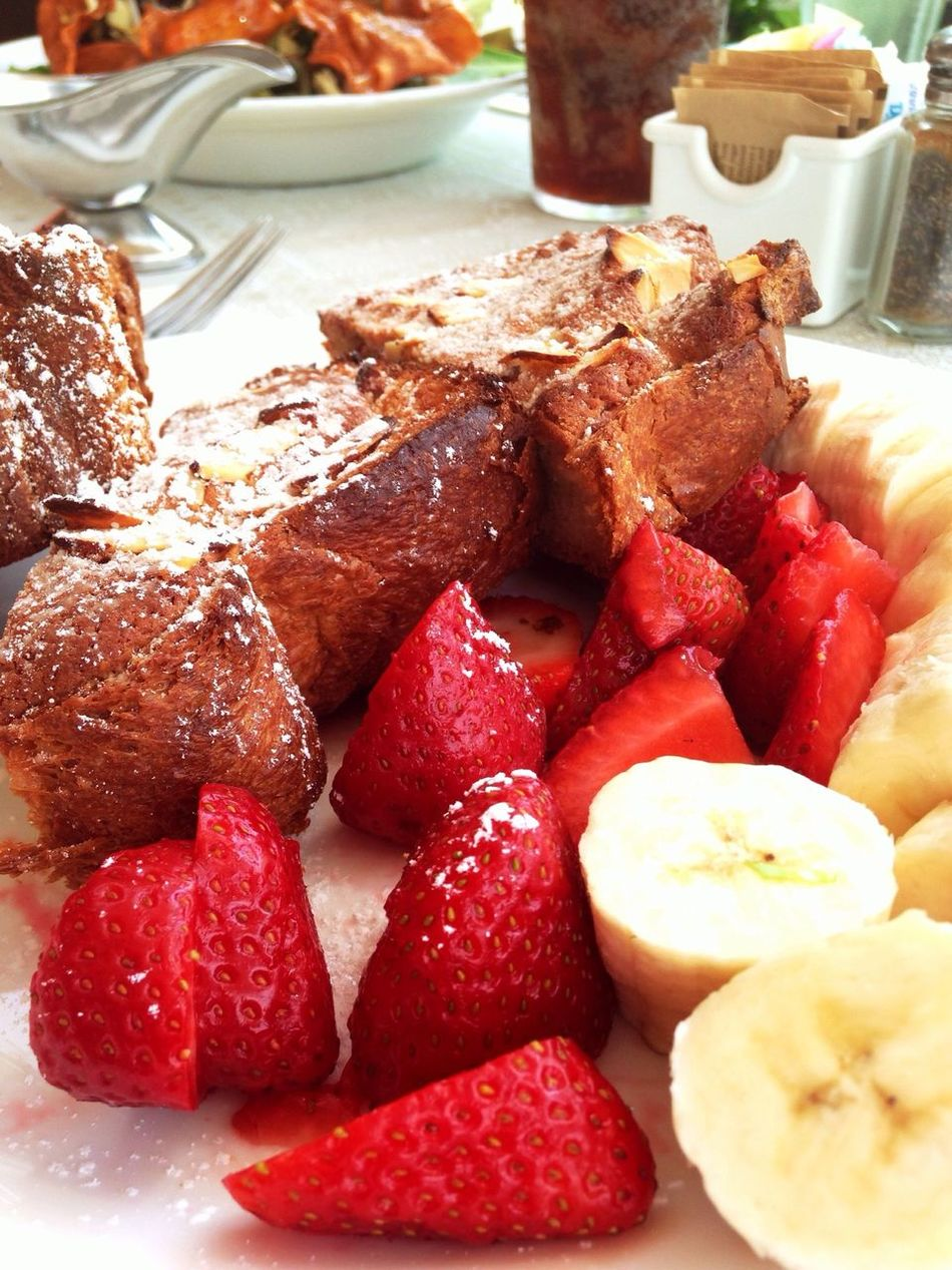 Today's breakfast was amazing! The EyeEm Breakfast Club Food On The Road RePicture Wealth