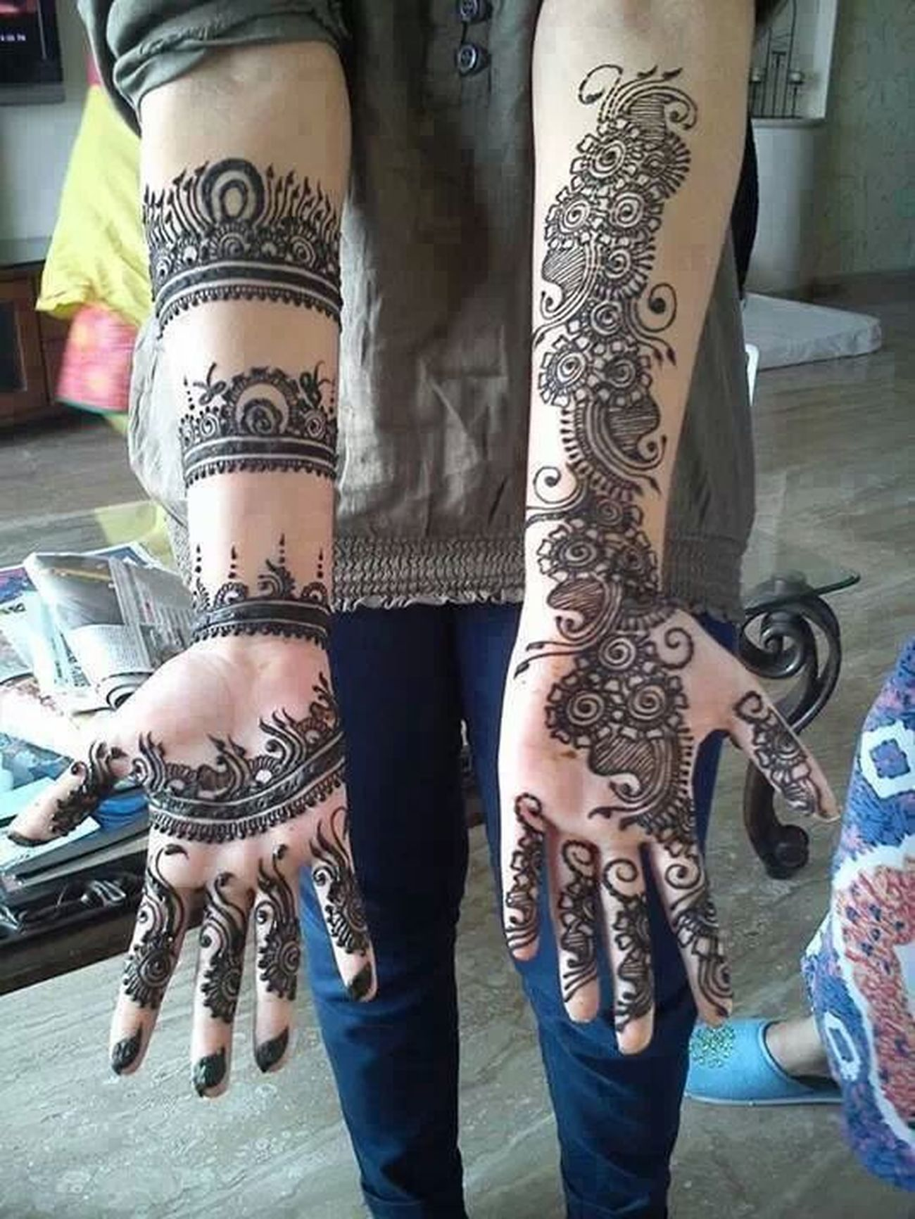 love for mehndi. Mehndi