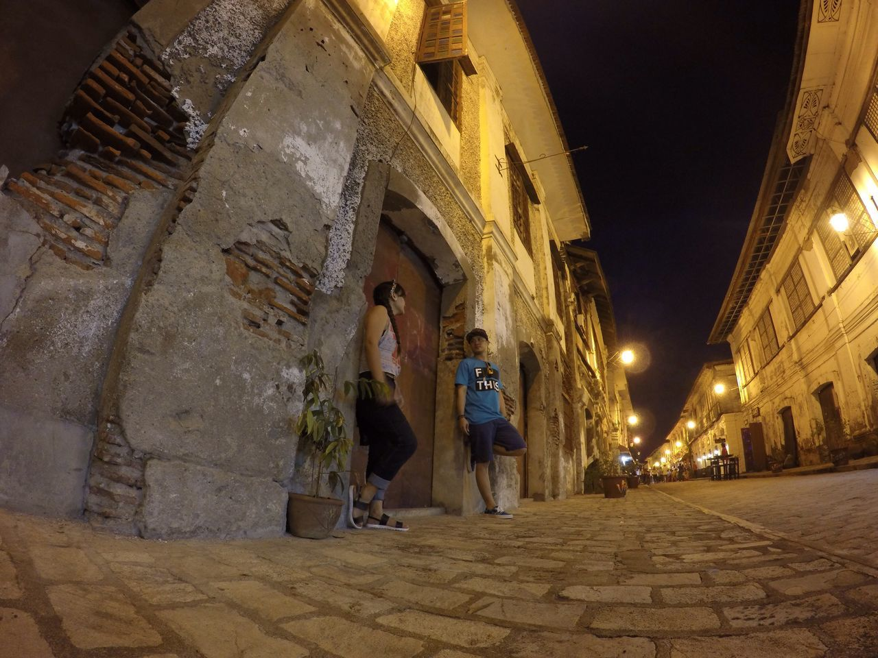 Old village in Vigan Ilocos Sur, Philippines Callecrisologo Oldhouses Backtothepast Philippines Couples Enjoying Life Check This Out Travel Destinations Travel Photography Life's Journey  OldButGold Oldbutnotforgotten Oldcity Vigan Philippines That's Me