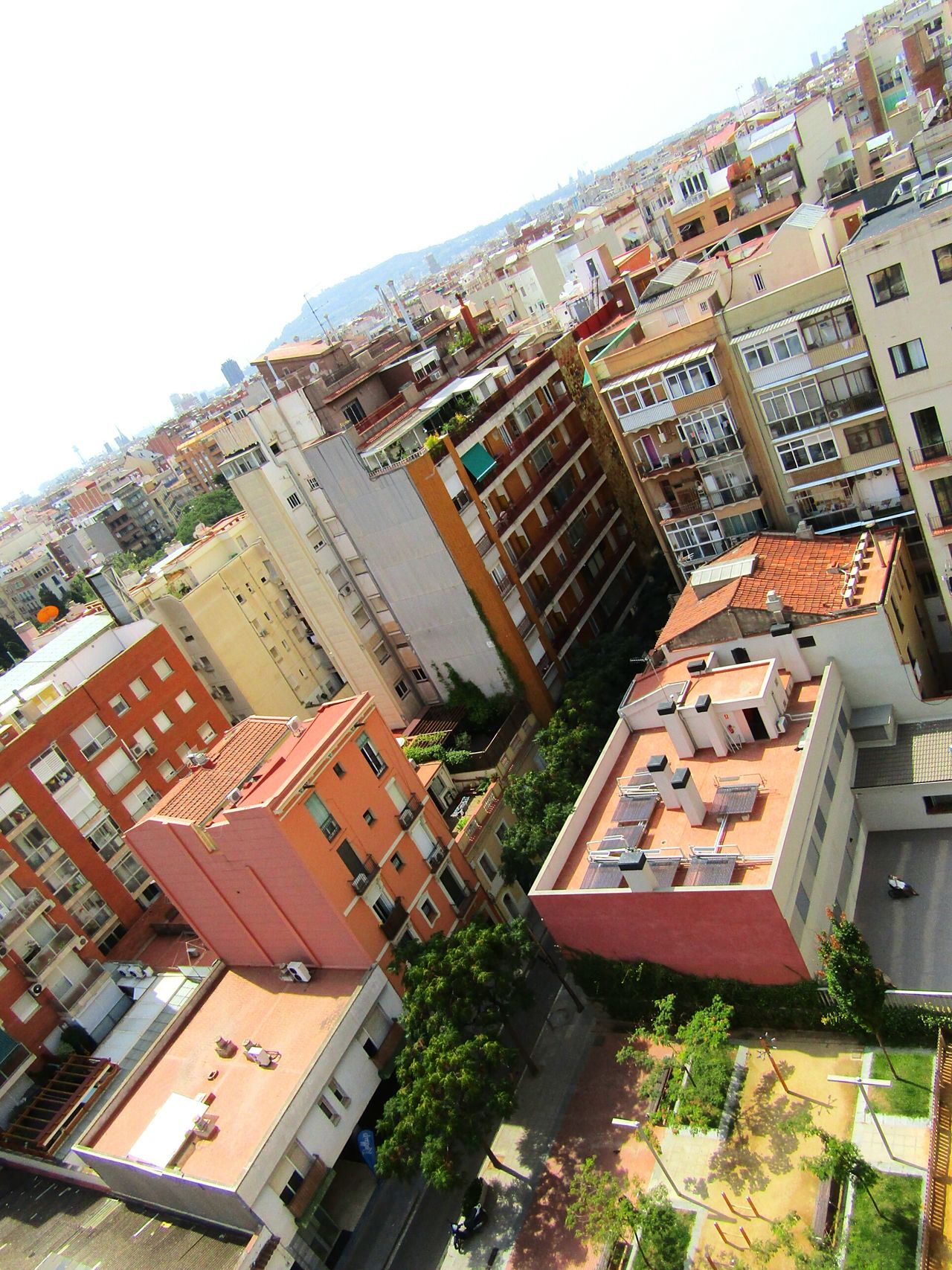 Houses City Cityview Beautifulview Citytown Architecturephotography Building And Sky Buildingphotography A Bird's Eye View Streetphotography SPAIN Barcelona Eyeemcollection From My Point Of View Eye4photography  Landscape Window View