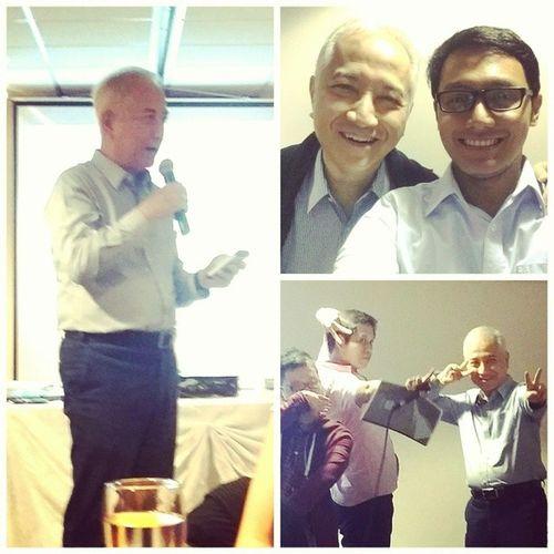 "With ""the"" Great Father of Ayala Young Leaders Congress, @tataymonch and siblings of AYLC KuyaJQ and @jinitals BestSHINDIGever BahagsubayReunited"